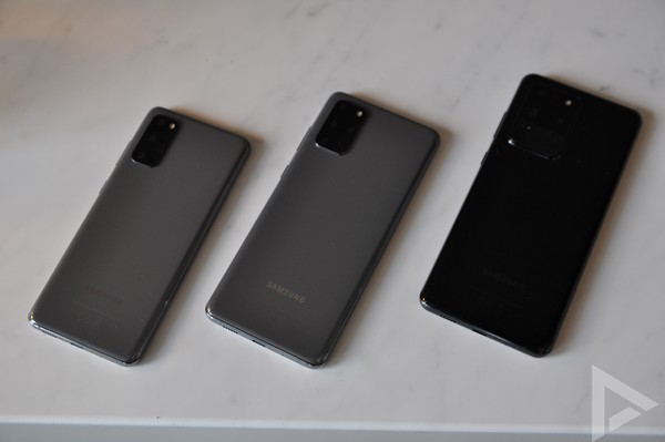Samsung Galaxy S20 ultra cam