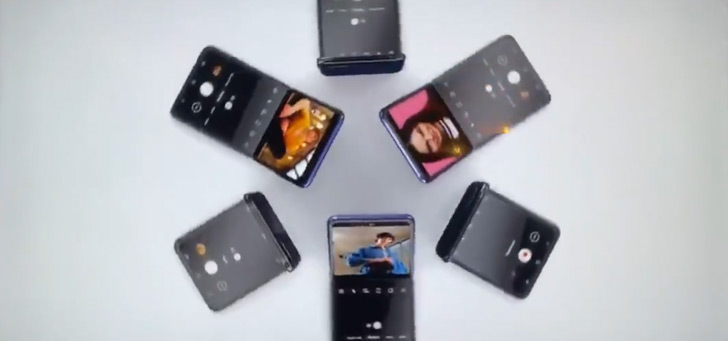 Samsung laat Galaxy Z Flip van alle kanten zien op televisie