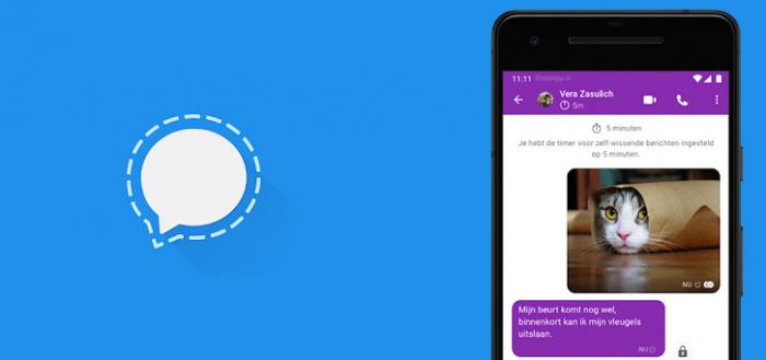 Chat-app Signal krijgt mogelijkheid tot vervagen gezichten