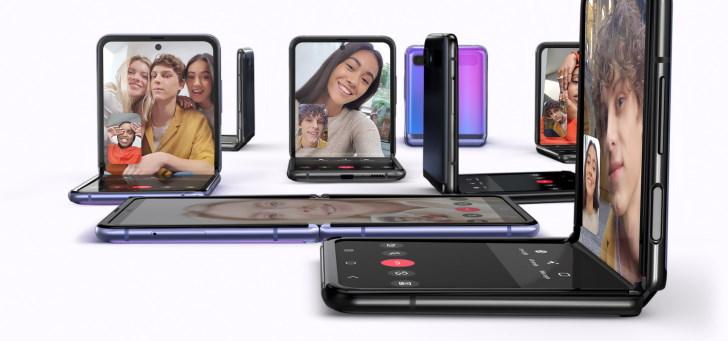 Samsung toont tweede vouwbare smartphone: Galaxy Z Flip