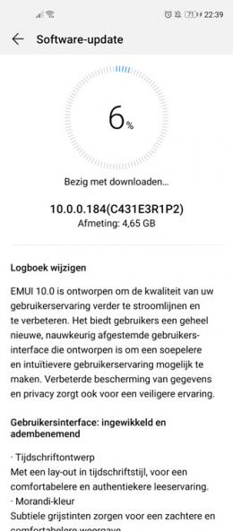 Huawei Nova 5T Android 10