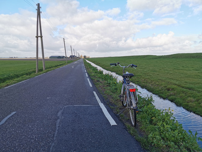 Huawei P30 Pro fiets