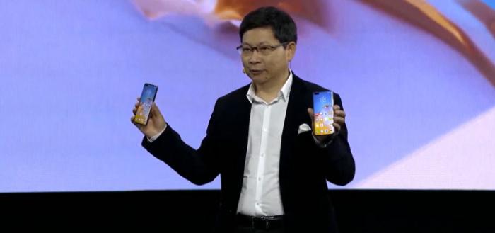 Huawei P40, P40 Pro en P40 Pro+ aangekondigd: krachtige toestellen met 5G