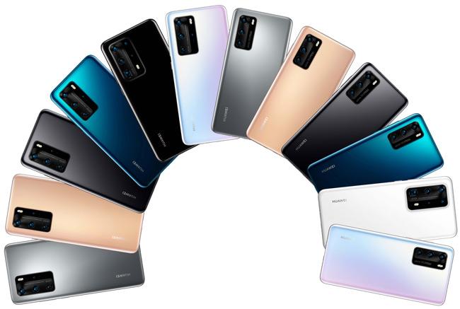 Huawei p40 serie foto