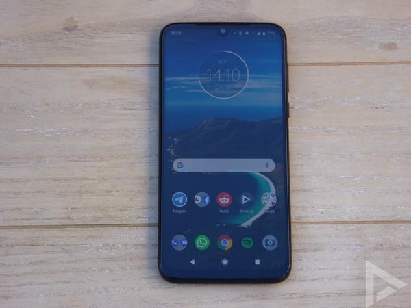 Moto G8 Plus scherm