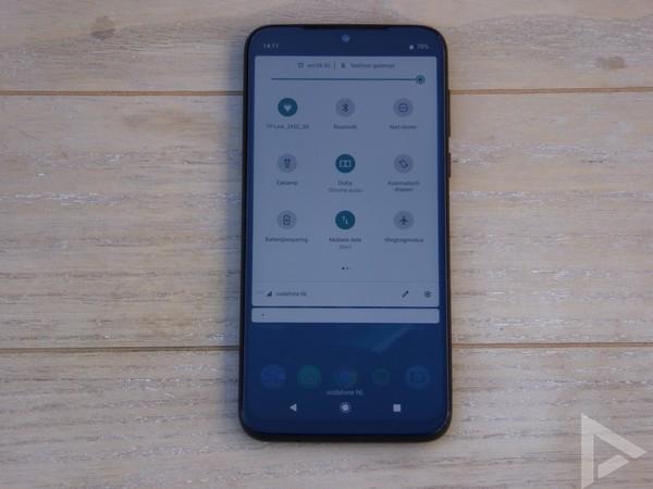 Moto G8 Plus notificaties
