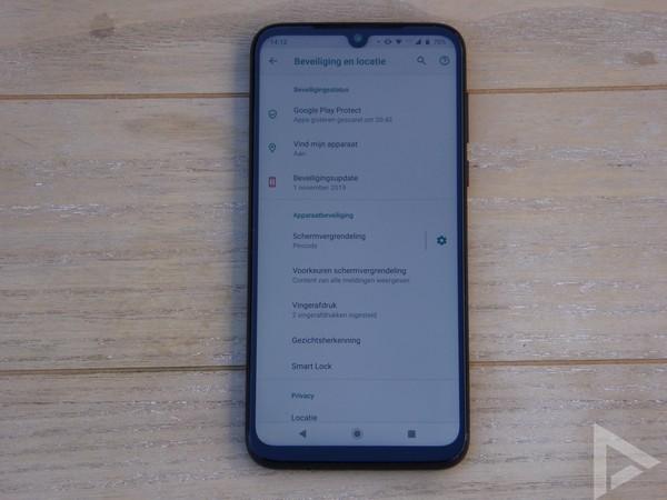 Moto G8 Plus update