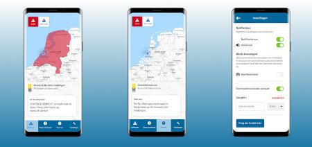 NL-Alert app