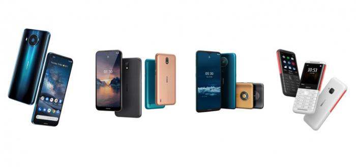 Nokia presenteert Nokia 8.3 5G, Nokia 5.3 en Nokia 1.3, en een klassieker