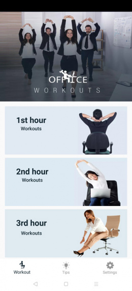 Office Workout app