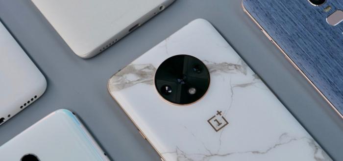 OnePlus deelt foto's van toestellen in nooit uitgebrachte kleuren, waaronder marmer