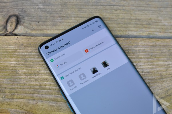 Oppo Find X2 slimme assistent