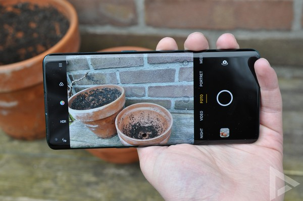 Oppo Find X2 camera-app