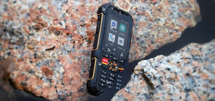RugGear RG170: betaalbare robuuste Android Go-'smartphone'