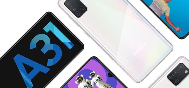 Samsung brengt Galaxy A31 met 5000 mAh accu uit in Nederland: en is goedkoper