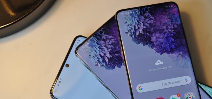 Samsung Galaxy S20-serie nu te koop in Nederland: alle details en prijzen