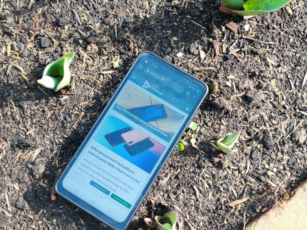 Samsung Galaxy Xcover Pro internet