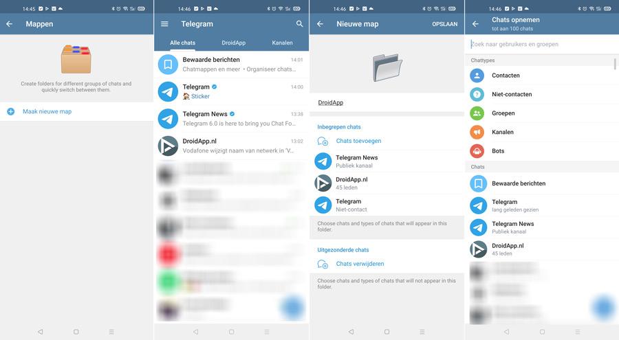 Telegram 6.0 mappen