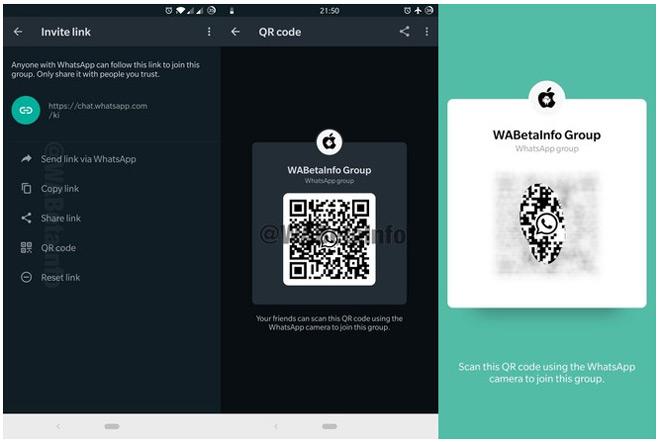 WhatsApp QR-code groepen