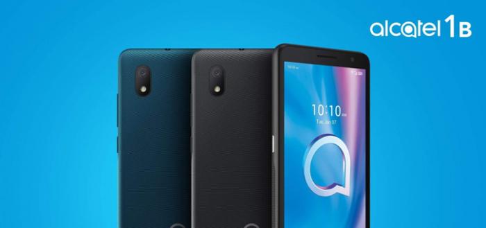 Alcatel 1B (2020): Android 10 smartphone nu verkrijgbaar voor 79 euro