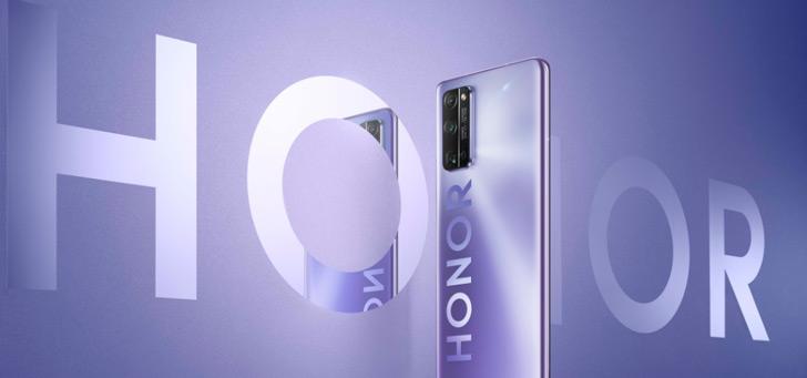 Honor 30, 30 Pro en 30 Pro+ aangekondigd: nieuw design en 50MP camera