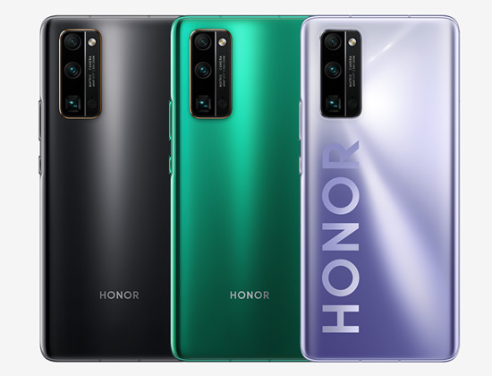 Honor 30 pro achter