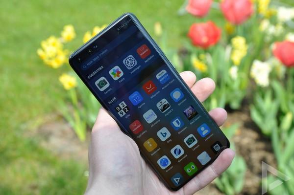 Huawei P40 Pro menu