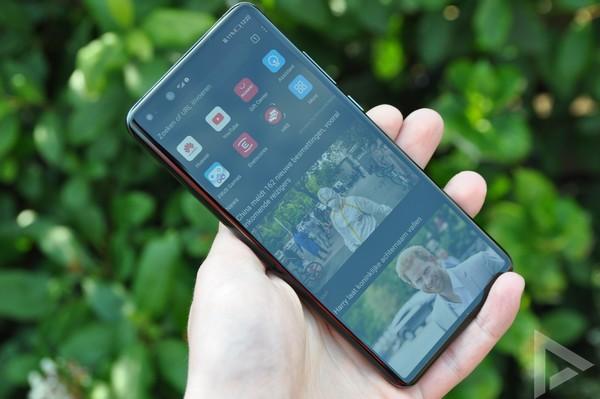 Huawei P40 Pro browser