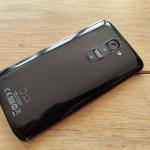 LG G2 achterkant