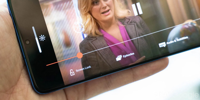 Netflix schermvergrendeling
