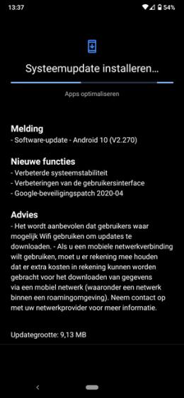 Nokia 7.2 patch april