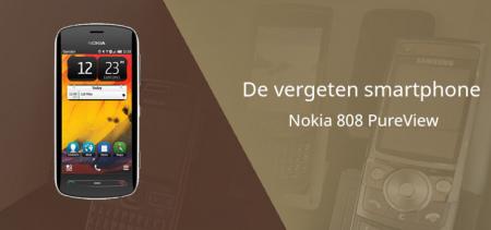 De vergeten smartphone: Nokia 808 PureView