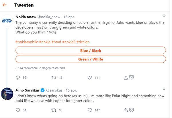 Nokia 9.3 PureView Polar Night