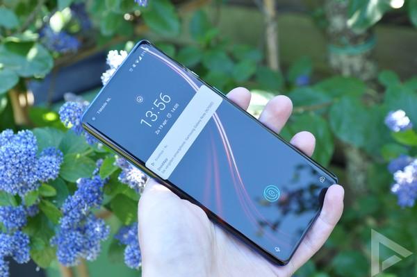 OnePlus 8 Pro vergrendelscherm