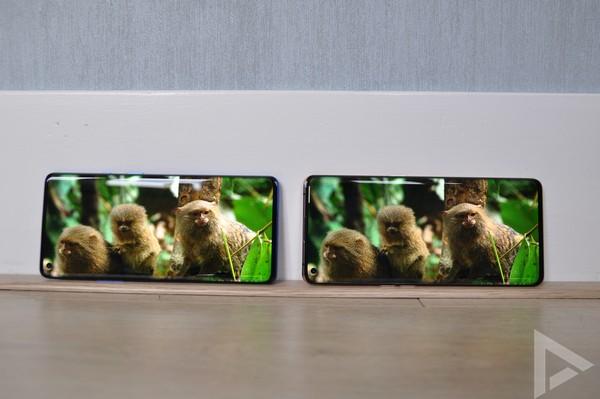OnePlus 8 Pro - Oppo Find X2 scherm