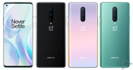 OnePlus 8 kleuren