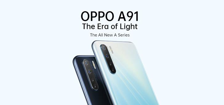 Oppo A91 krijgt grootse update met Android 10 en ColorOS 7.1