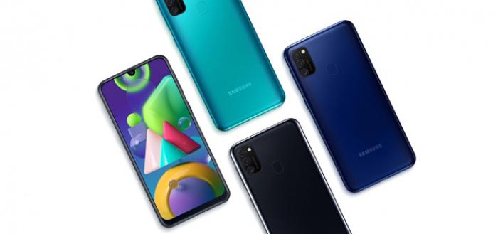 Samsung Galaxy M21 met 6000 mAh accu voor 219 euro nu verkrijgbaar