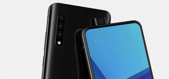 Onbekende Samsung met pop-up camera duikt op (renders)