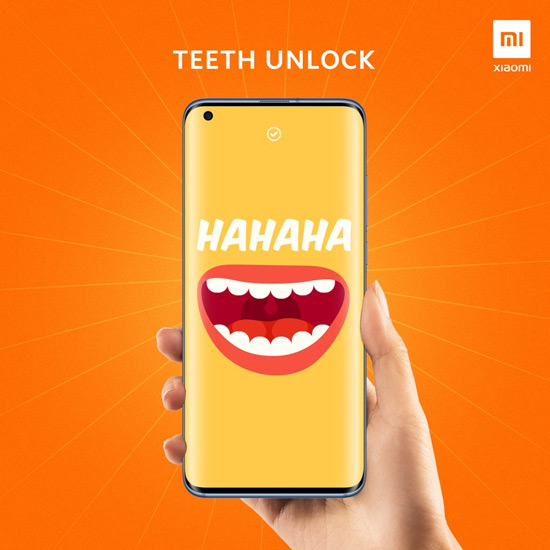 Xiaomi Teeth Unlock