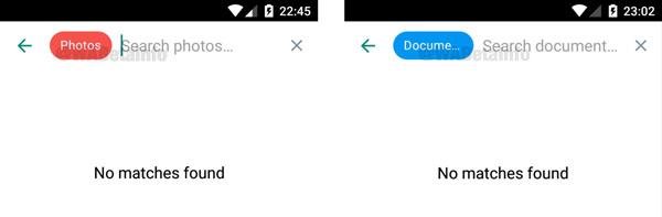 zoekfunctie whatsapp