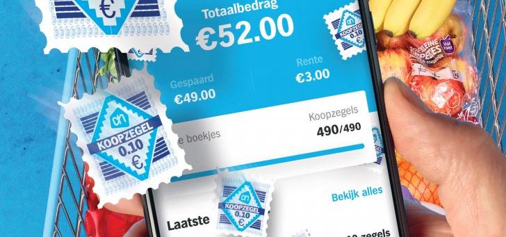 Albert Heijn: vanaf nu digitaal je koopzegels sparen via app