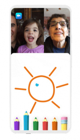 Google Duo Family Mode