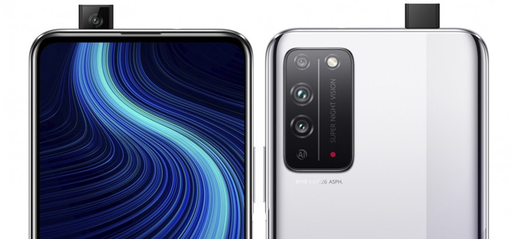Honor presenteert nieuwe Honor X10 met 5G en pop-up camera