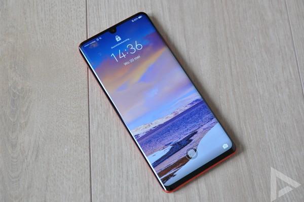 Huawei P30 Pro lockscreen