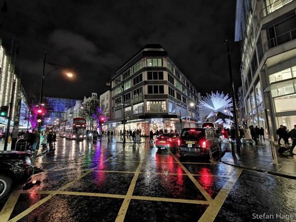 Huawei P30 Pro Londen nacht