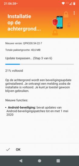 Motorola One patch mei 2020