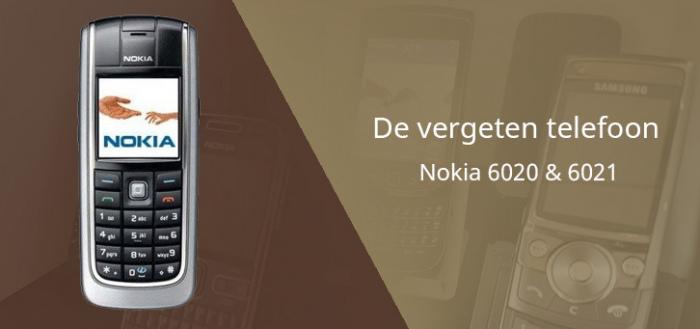 De vergeten telefoon: Nokia 6020 en 6021