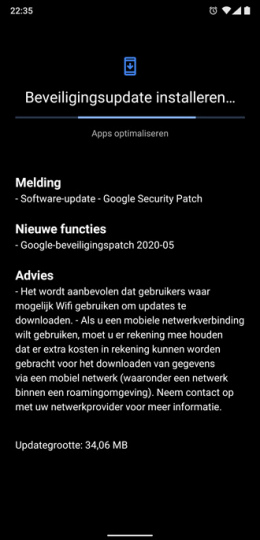 Nokia 8.1 mei patch