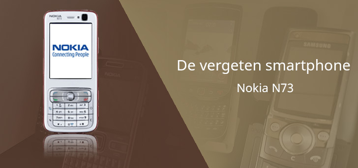 De vergeten smartphone: Nokia N73